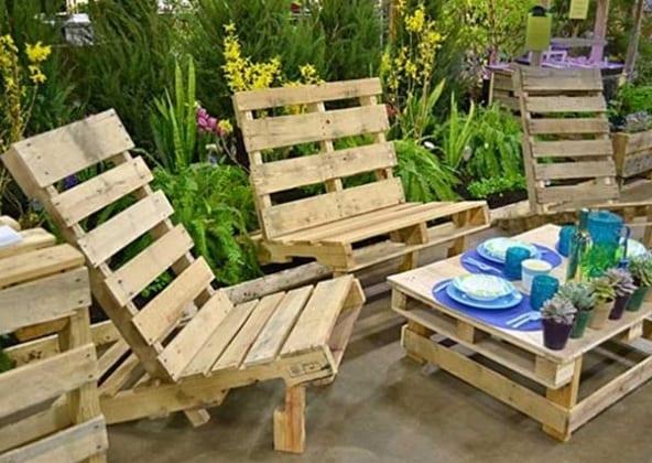 37 idee fai da te per arredare il giardino o il balcone for Idee giardino semplice