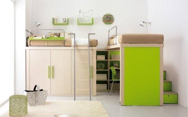 Camere Per Ragazzi Salvaspazio : Come scegliere il letto adatto alla cameretta dei ragazzi