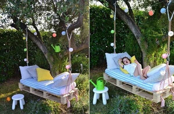 37 idee fai da te per arredare il giardino o il balcone for Idee per il giardino piccolo