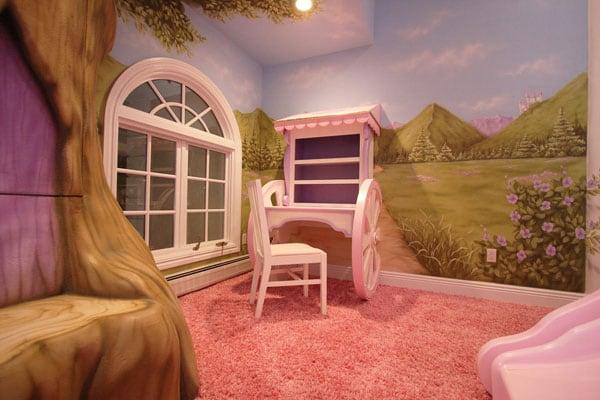 Camerette per bambini ecco 18 idee da favola - Letto da principessa ...