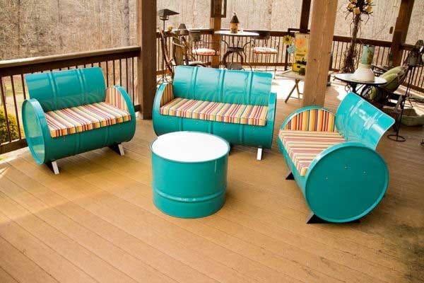 Divano Giardino Fai Da Te.37 Idee Fai Da Te Per Arredare Il Giardino O Il Balcone