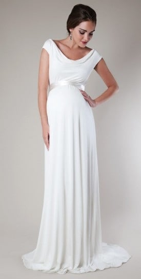 Vestiti Da Sposa X Donne Incinte.Abiti Da Sposa Per Mamme E Future Mamme Che Non Vogliono