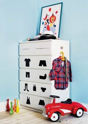 44 idee creative per personalizzare i tuoi mobili ikea ... - Rinnovare Cassettiera Malm