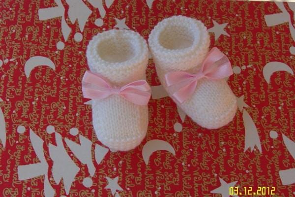 schema per scarpine da neonato ai ferri nostrofiglio it schema per scarpine da neonato ai ferri