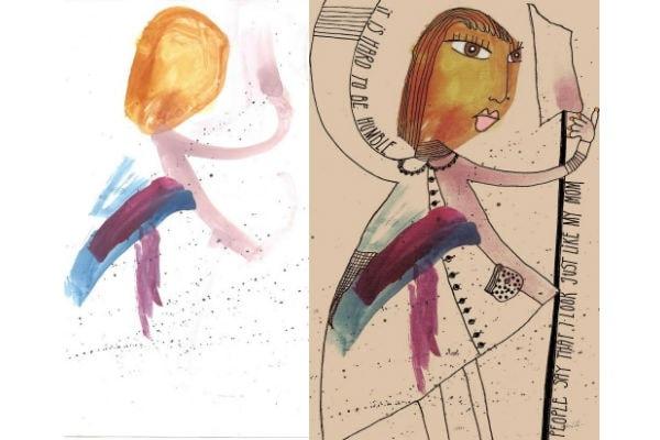 Conosciuto Kids Art, i disegni dei bambini diventano opere d'arte  EY24