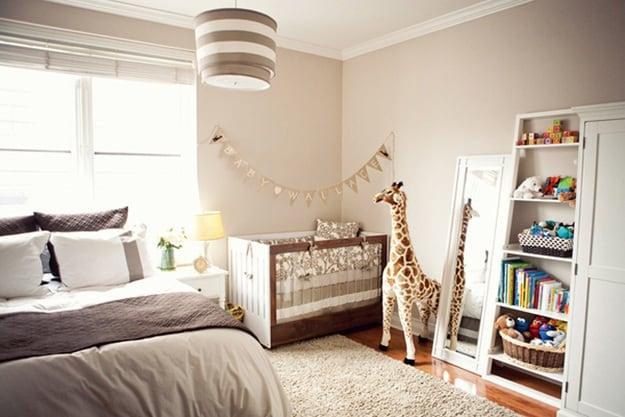 Idee Per Arredare Cameretta Neonato : Idee geniali per fare spazio al bebè in una casa piccola