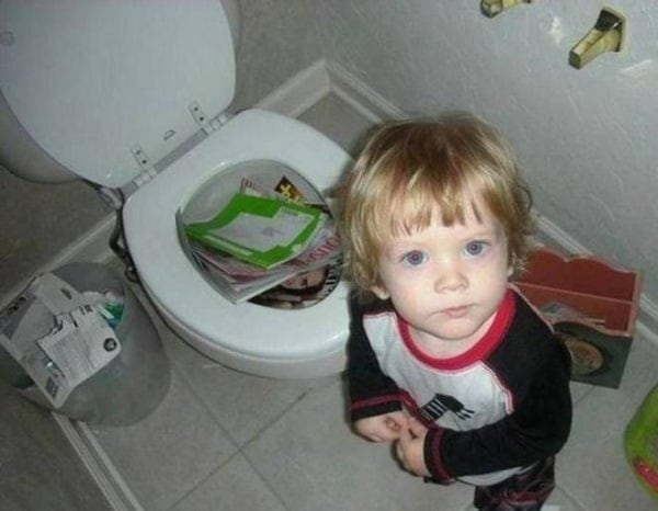 """Conosciuto I """"disastri"""" dei bambini: le foto più divertenti - Nostrofiglio.it QV33"""