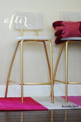 diy-glam-ikea-stools