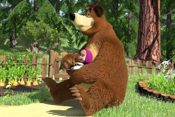 Masha e orso il cartone nostrofiglio