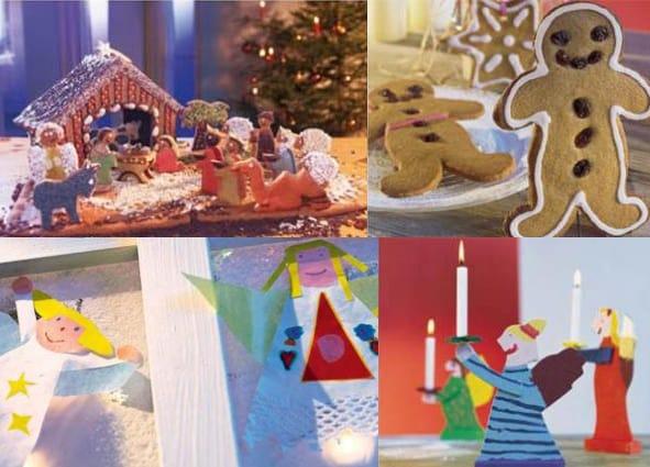 Eccezionale 10 lavoretti di Natale per bambini: create voi i regali  UG42