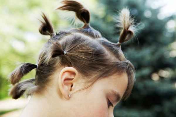 Galerry acconciatura per bambina