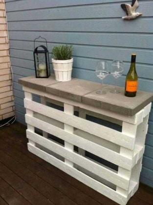 37 idee fai da te per arredare il giardino o il balcone ... - Idee Arredamento Giardino