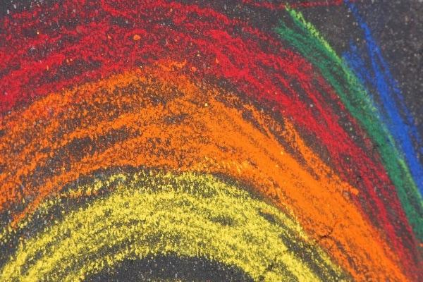 colore arcobaleno