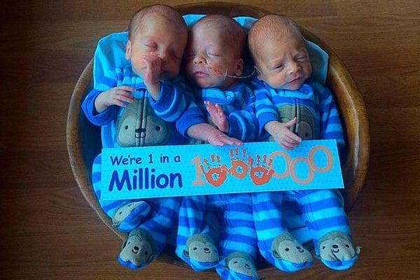 Partorisce tre gemelli omozigoti uguali un caso su un - Gemelli diversi un altro ballo ...