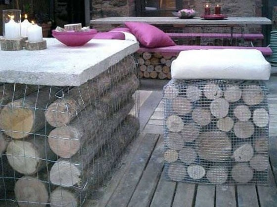 37 idee fai da te per arredare il giardino o il balcone - Numeri per tavoli fai da te ...
