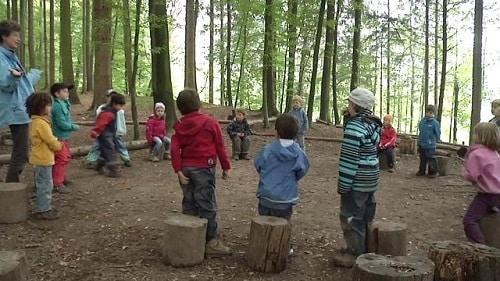 scuola bosco.630x420 E se con i bimbi dellAsilo ci fossero anche i nonni?