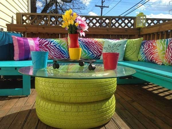 Tavolo Per Esterno Fai Da Te.37 Idee Fai Da Te Per Arredare Il Giardino O Il Balcone