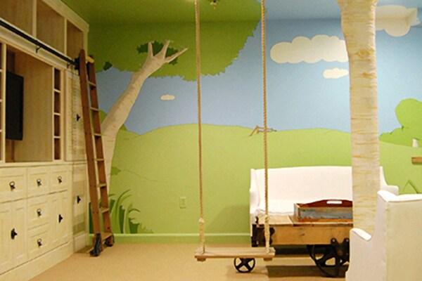 Camerette per bambini ecco 18 idee da favola - Progetto casa sull albero per bambini ...