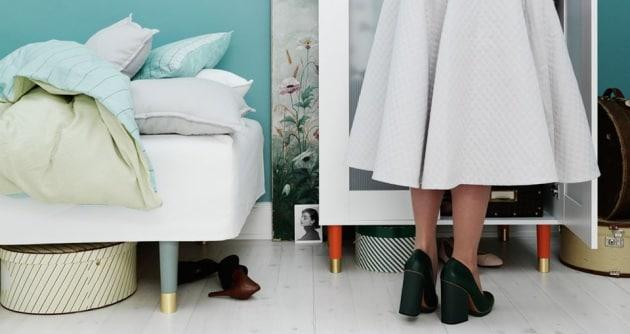 44 idee creative per personalizzare i tuoi mobili ikea for Gambe per mobili ikea