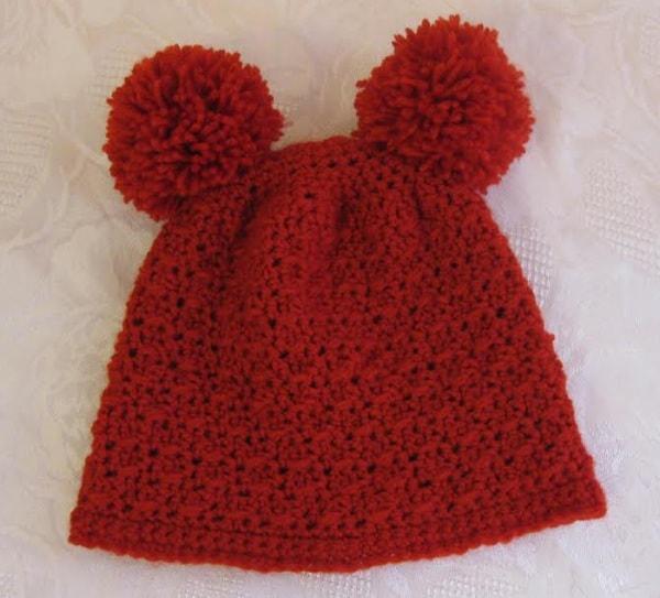 737c997a7d26 Schema cappellino rosso da orsetto - Nostrofiglio.it