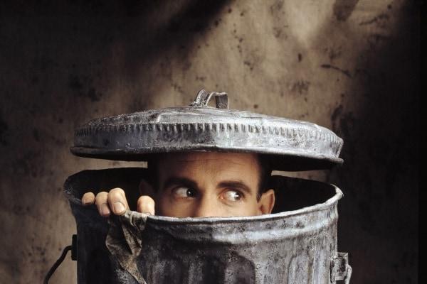 cestino spazzatura
