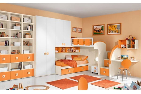 Cameretta dei bambini 20 modelli pratici for Camerette bimbi mondo convenienza