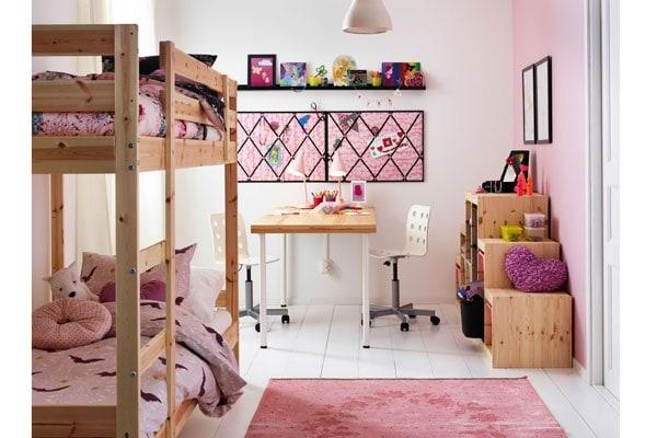 Camerette Ikea A Ponte.Cameretta Dei Bambini 20 Modelli Pratici Nostrofiglio It