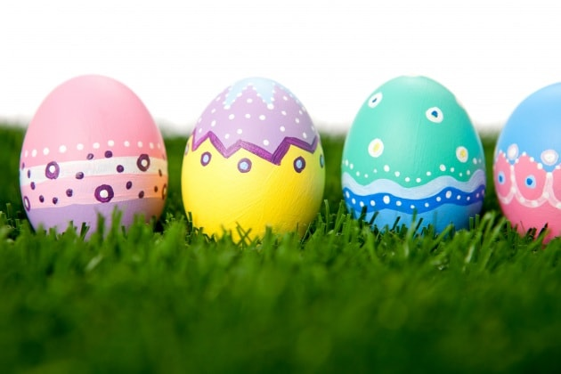 30 uova di pasqua decorate con fantasia foto - Uova di pasqua decorati a mano ...