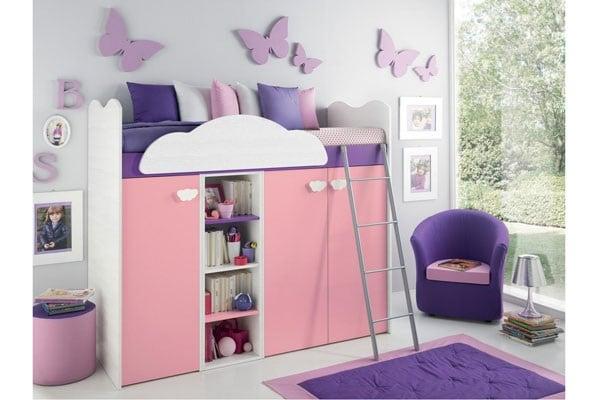 Cameretta dei bambini 20 modelli pratici for Stanzette per bimbe