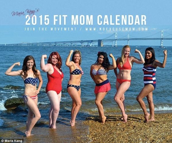 Calendario Mamme.Mamme Vere Da Calendario Foto Di Donne Che Dopo Il Parto