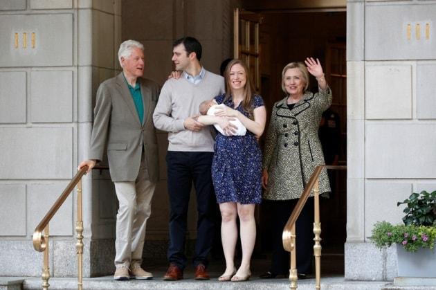 chelsea-clinton-family