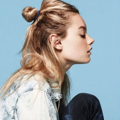 the-half-bun-hairstyle-trend-2015-1