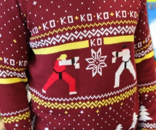 street-fighter-ugly-christmas-sweater-fun-christmas-gift-ideas