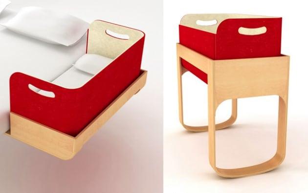 Culle per bambini 30 modelli di super tendenza - Culla neonato da attaccare al letto ...