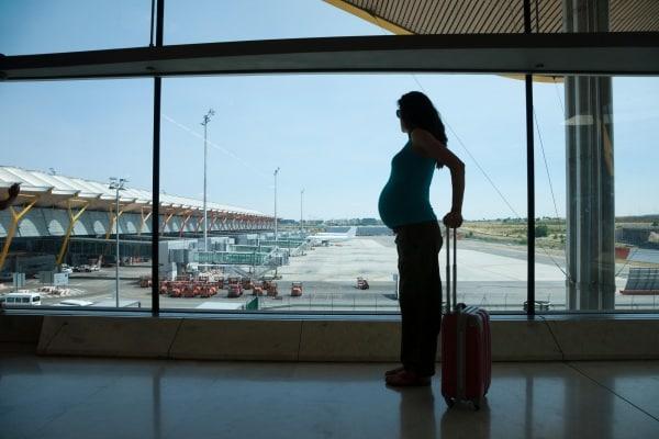 gravidanza e aereo