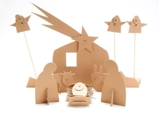 20 presepi originali da fare con i bambini - Fatti di gargoyle per bambini ...