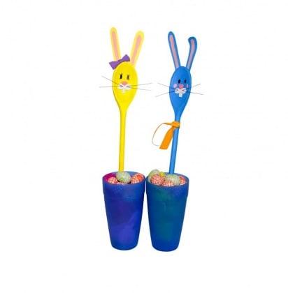 Lavoretto per bambini cucchiai coniglietti for Disegna i tuoi piani di casa gratuitamente