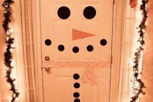 snowman-door