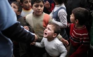 bambini siriani profughi