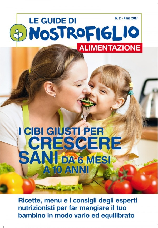 Guida sull 39 alimentazione del bambino in edicola dal 17 for Rivista di programmi domestici