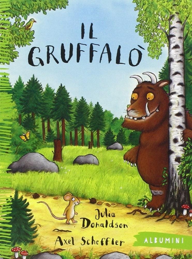 Un giocattolo di Gruffalo Lavoro a Maglia Motivo grufalo