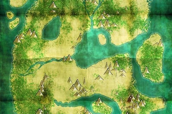 mappa del tesoro