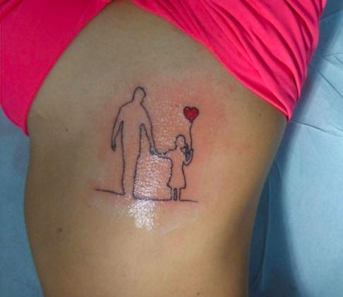 Conosciuto Tatuaggi, ecco qualche idea per ricordare il proprio papà  BW51