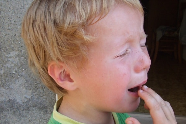 pianto di un bambino