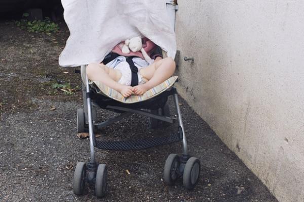 carrozzina neonato