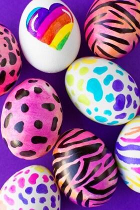 lisa-frank-easter-eggs