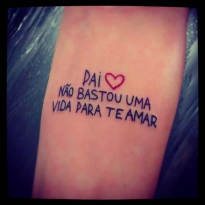 Tatuaggi Ecco Qualche Idea Per Ricordare Il Proprio Papà