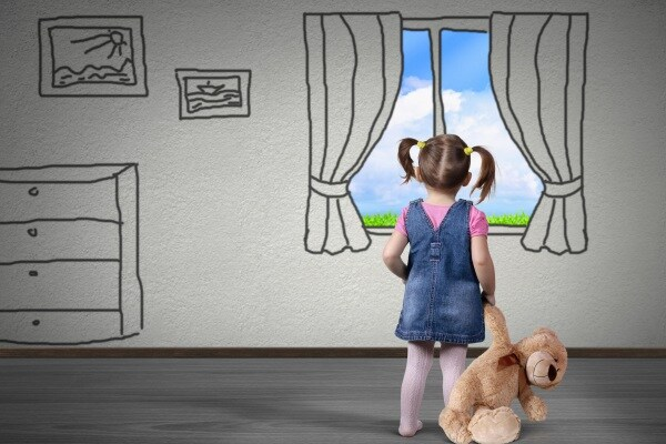 bambino da solo