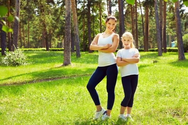 Fitness: 3 esercizi da fare con i figli