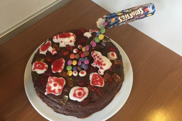 gravity cake finita